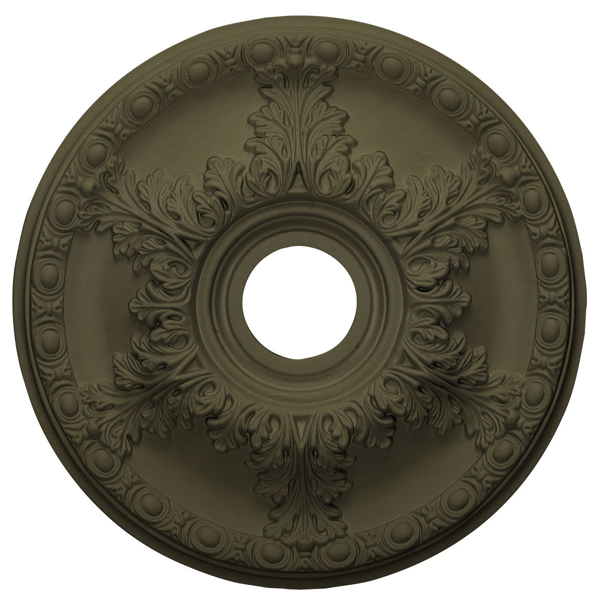 Ekena Millwork CM18GAWHF Granada Ceiling Medallion fits Canopies up to 6 5/8'', Witch Hazel