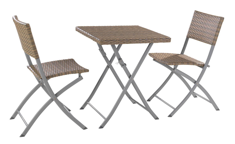Essgruppe Gartengruppe Sitzgruppe 3 Tlg Arvid Tisch Inkl 2