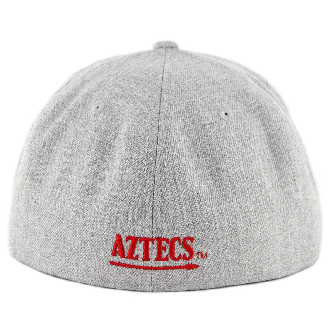 innovative design 94a2b ac8be Amazon.com   New Era 5950 SDSU San Diego State Aztecs Fitted Hat (Heather  Grey BK) NCAA Cap   Sports   Outdoors