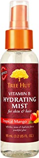 product image for Tree Hut Shea Hydrating Mist, Tropical Mango, 3.2 Fluid Ounce (Pack of 3)
