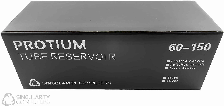 Singularity Computers Protium Reservoir 150mm Silver//Acetal