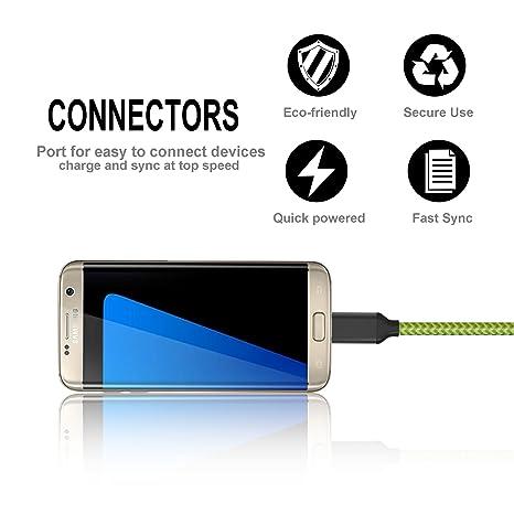Amazon.com: Cable USB tipo C, UMECORE (paquete de 3 10 ft ...