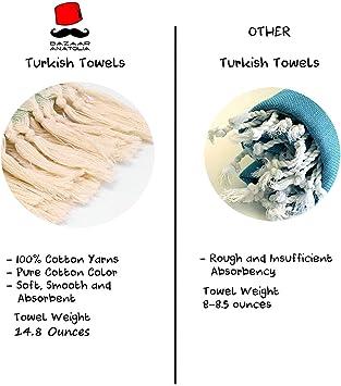 manta etc. de algod/ón org/ánico y seda en color gris puede utilizarse como pareo The Turkish Emporium Lujosa toalla Peshtemal tipo ba/ño turco chal