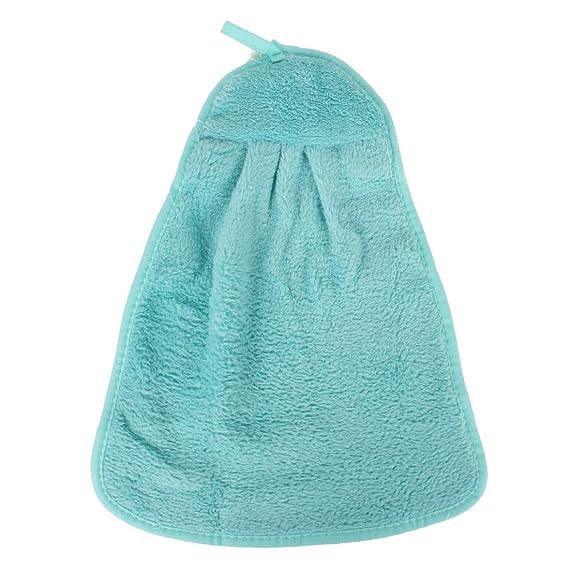 Amazon.com: eDealMax Colgando de limpieza Para secarse las Manos toallas secas toalla de Manos: Home & Kitchen