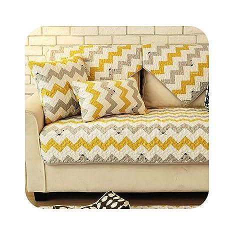 Lovely-Shop Sofa Cover Funda de cojín de algodón con diseño ...