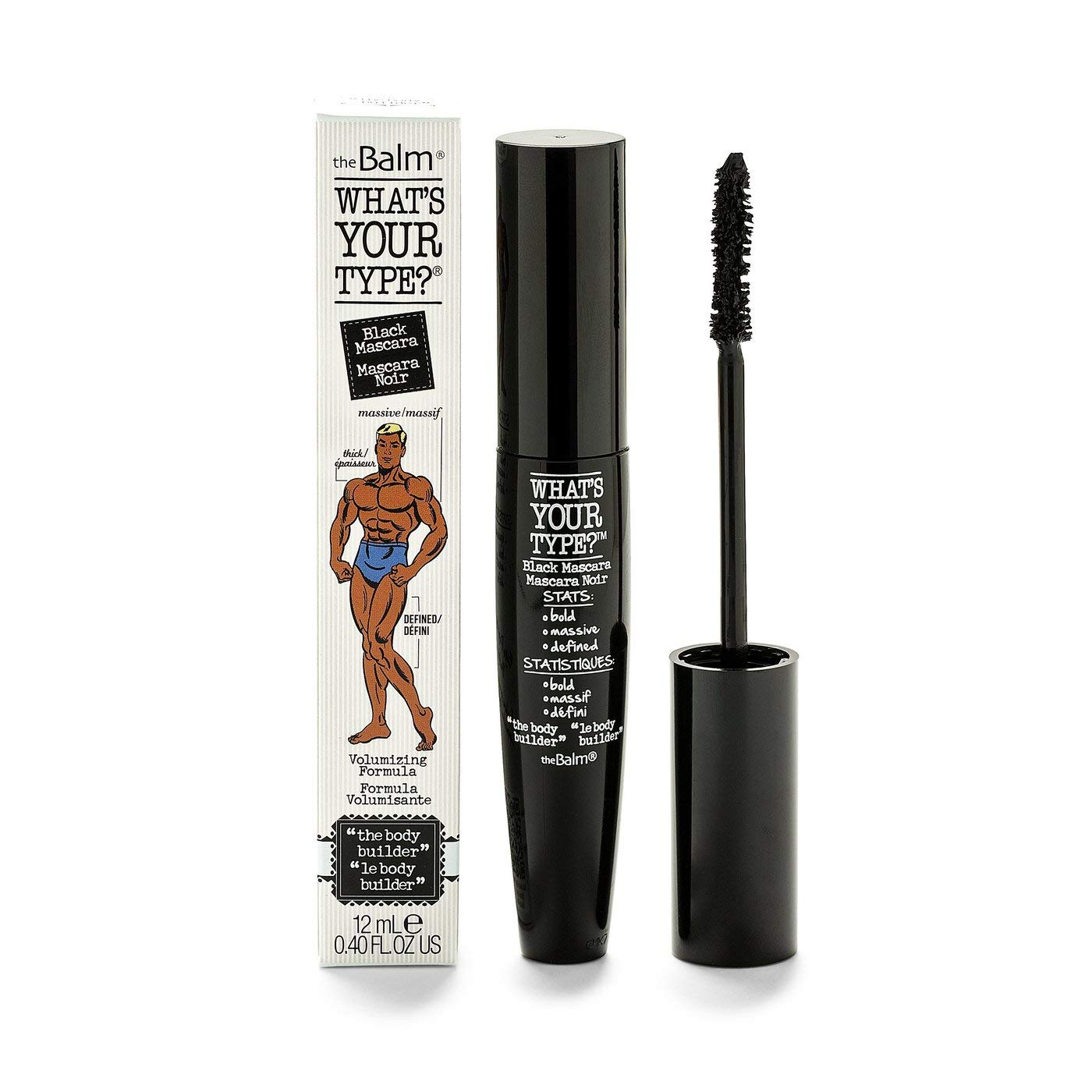 theBalm What's Your Type? The Body Builder Mascara, Black