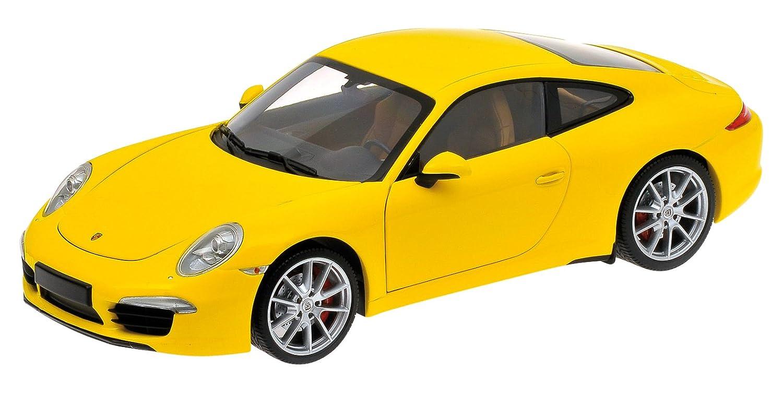 Unbekannt Porsche Maßstab 1  18 2011 911 Carrera S (gelb)