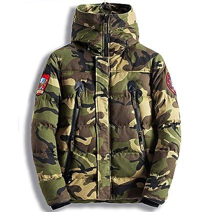 Amazon.com: Parka Men Winter Jackets Cotton Chaquetas Hombre ...