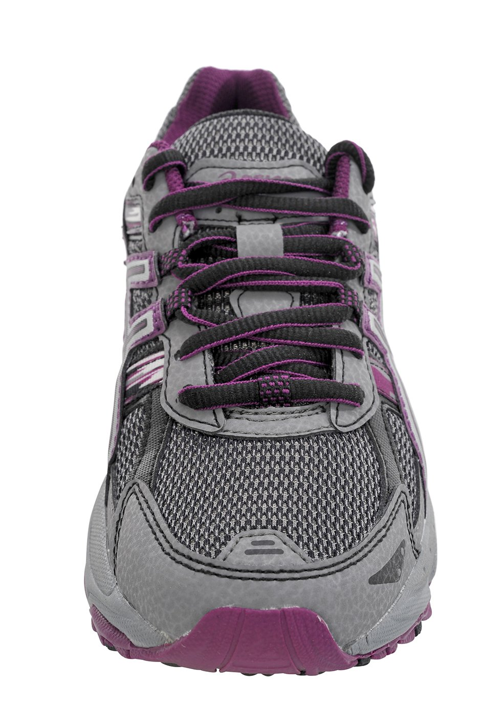 ASICS Women's Gel-Venture 5 Trail Running Shoe, Frost Gray/Gray/Silver/Magenta, 6 M US by ASICS (Image #2)