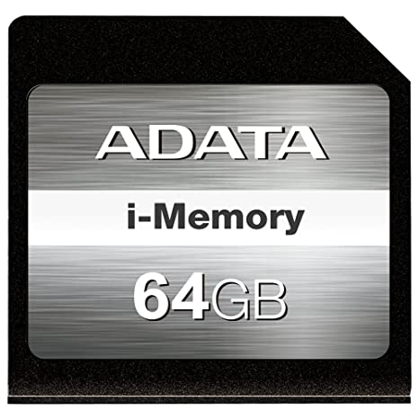 Amazon.com: ADATA 64GB i-Memory SDXC for MacBook Air 13 ...
