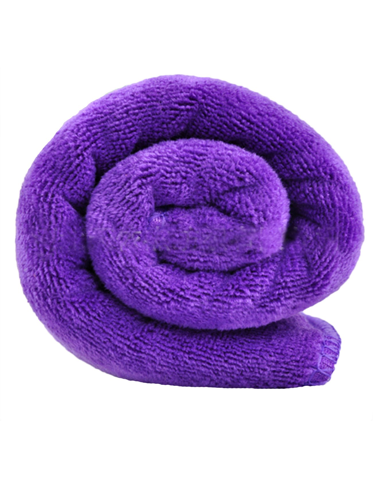 Aimother Absorbent Microfiber Kitchen Cleaning Cloth One Size(14x30Inch) Purple