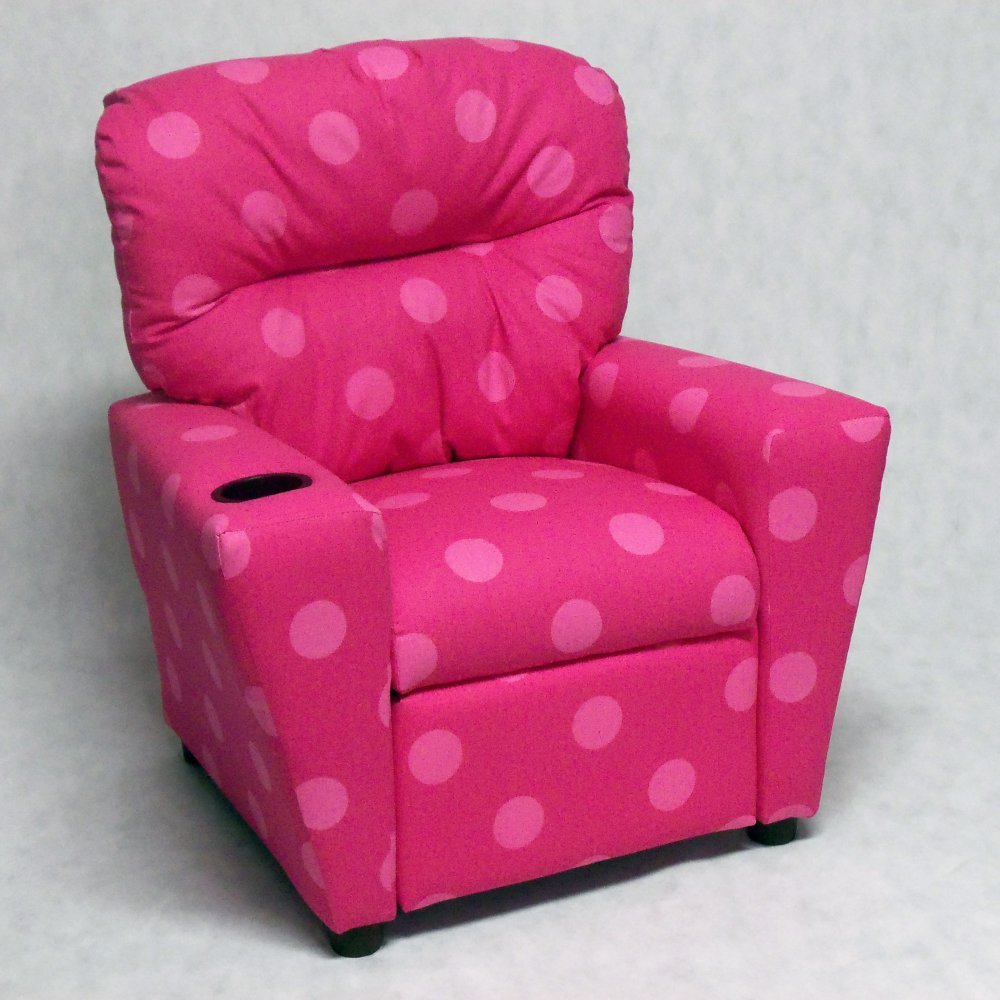 Brazil Furniture Cupholder Child Recliner - Oxygen