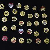 emoji magnete 30 st 2 5 cm stark haftende flach magnete smiley magnete k hlschrank. Black Bedroom Furniture Sets. Home Design Ideas