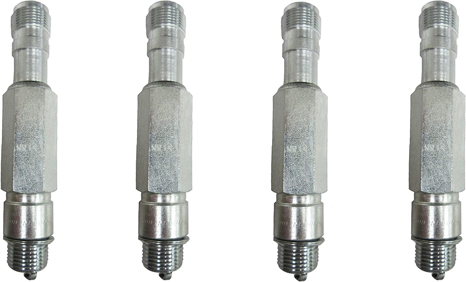 Champion Spark Plug Large Industrial RB77CC 237 Pack of 4