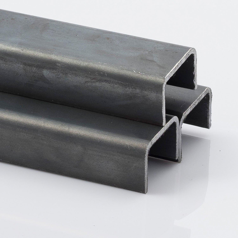 U-Tr/äger UNP U-Stahl Stahltr/äger-UNP 80 Tr/äger L/änge 500mm 500-2000mm EN 10279