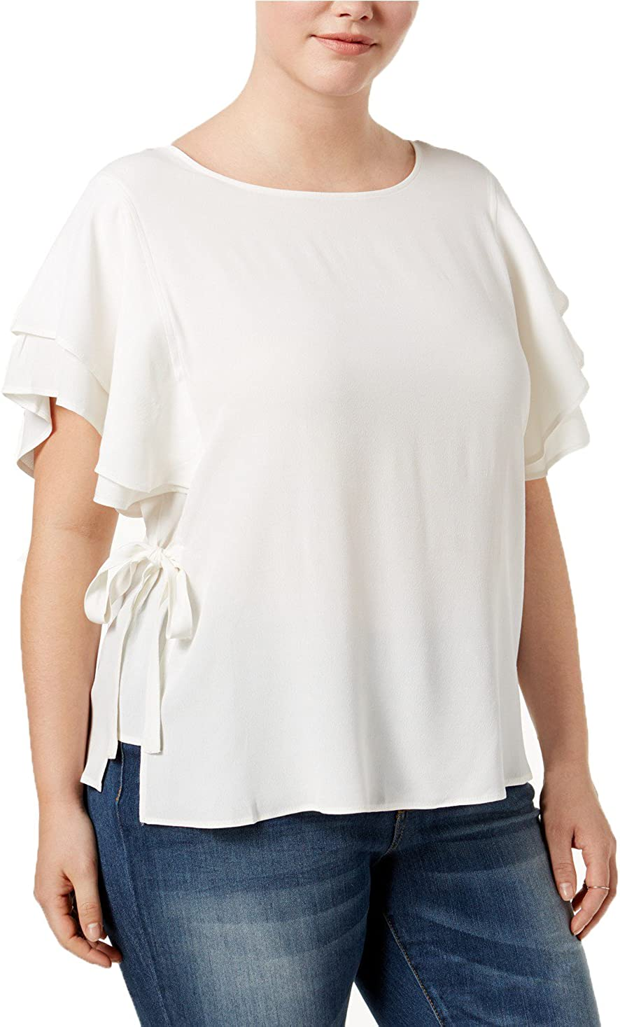 Witspace Women Printed Shirt Short Sleeve Blouses Tops Causal T Shirt