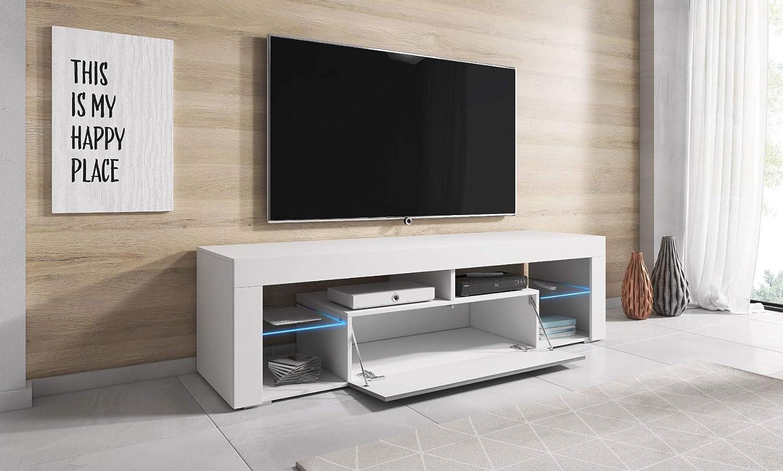 E-com Titan - Mueble para televisor (140 cm), Color Negro: Amazon.es: Juguetes y juegos