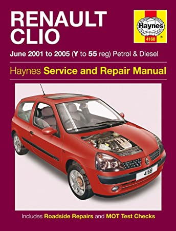 renault clio petrol diesel 01 04 haynes manual amazon co uk rh amazon co uk renault clio user manual 2002 renault clio 2002 owners manual pdf