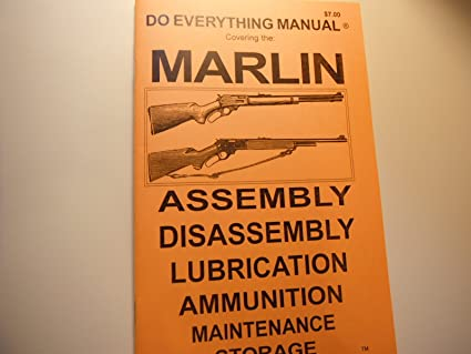 Amazon Marlin Do Everything Manual Sports Outdoors