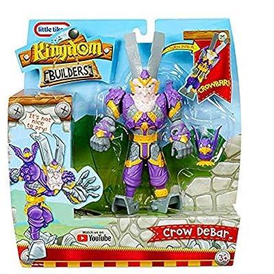 Kingdom Builders - Crow Debar .... Turn Into A Crowbar!: Toys & Games