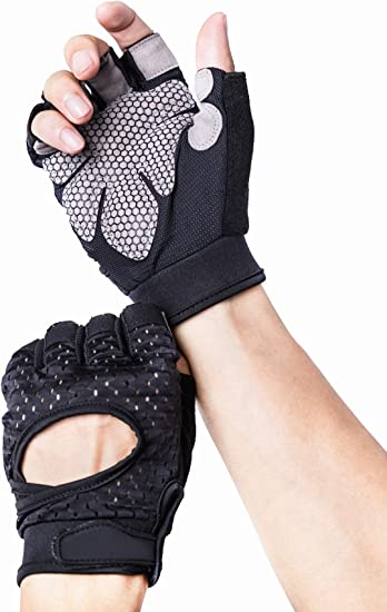 GOOD TRAINING GLOVES BODYBUILDING FITNESS WORKOUT POWER LIFTING GYM