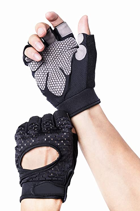 SPORTS Bodybuildinghandschuhe Fitnesshandschuhe Trainingshandschuhe Gloves C.P