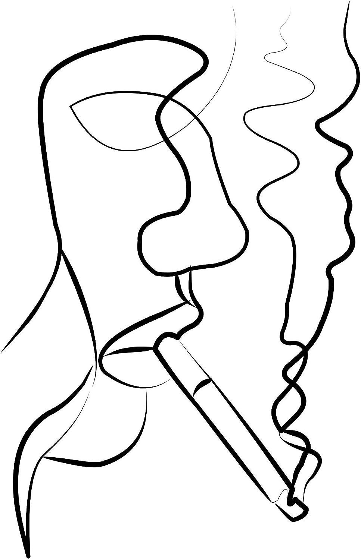 Social Crazy Stampa in Tela Canvas 100/% qualit/à Italia Minimal Effetto Dipinto Idea Regalo Casa Quadro Cucina Stanza da Letto Soggiorno Almost Kiss, 66X100 CM