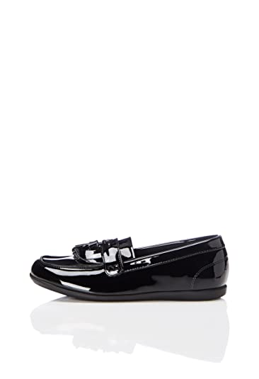 23623addb1bf3 Amazon.com: RED WAGON Back to School Tassel, Girls' Loafers Black ...