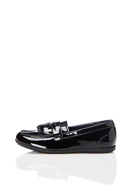 Red Wagon Mocasines de Flecos para Niñas: Amazon.es: Zapatos y complementos