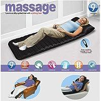 Flipco Velvet Bed Mattress Body Massager with 9 Motor Vibrator & 9 Soothing Heat