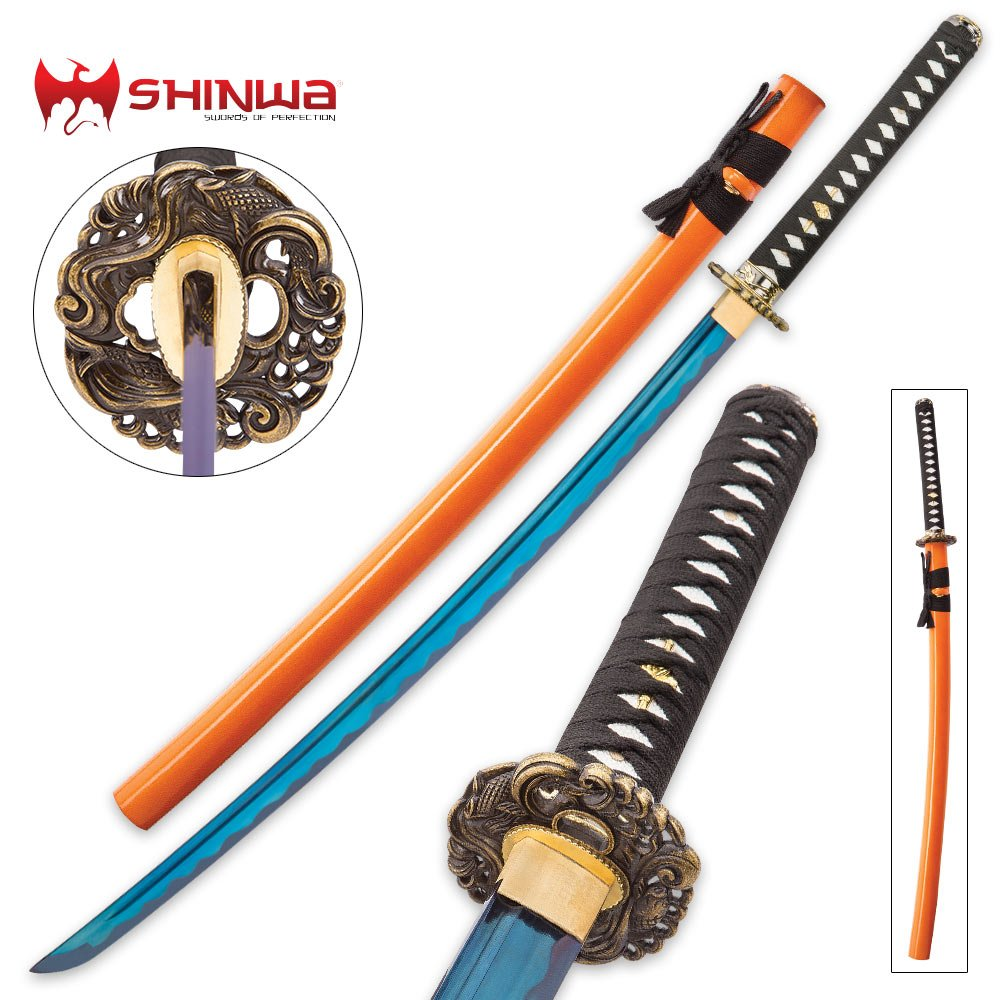 Shinwa Imperial Blue Samurai Sword by Shinwa