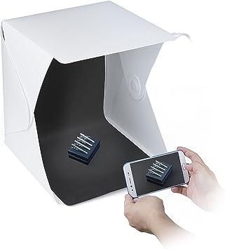 ZWOOS Caja de Fotografía con LED de Luz Fotográfico Tienda Caja de ...