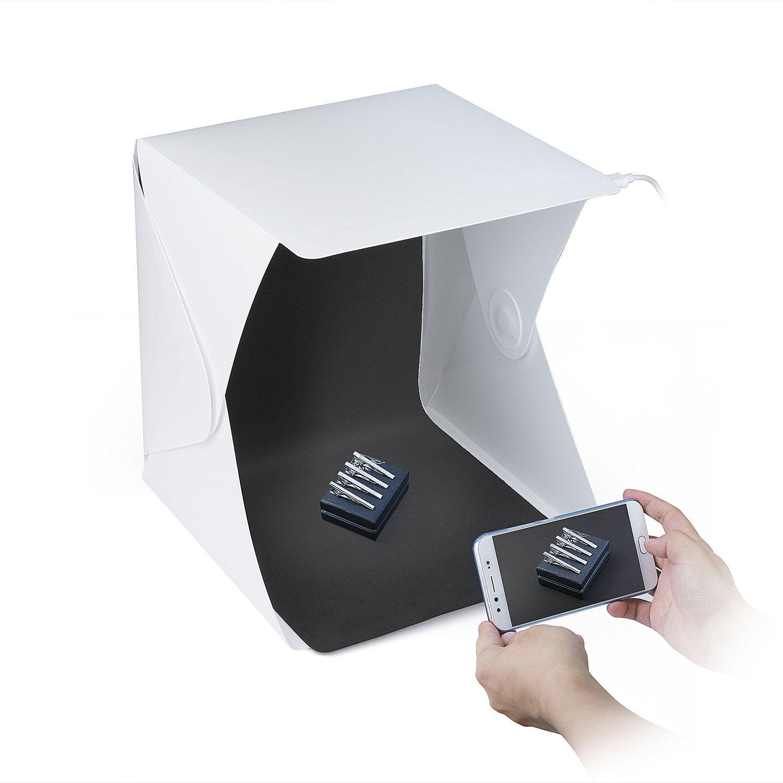 ZWOOS Caja de Fotografía con LED de Luz Fotográfico Tienda...