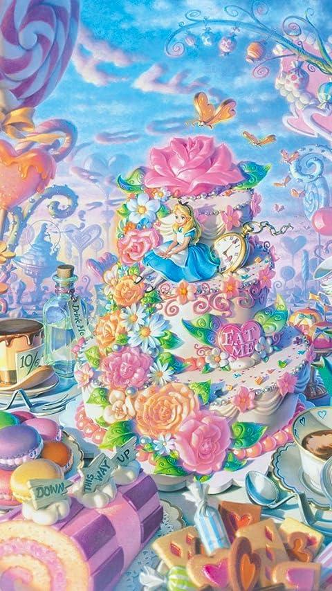 ディズニー アリス イン スイーツランド XFVGA(480×854)壁紙 画像59676 スマポ