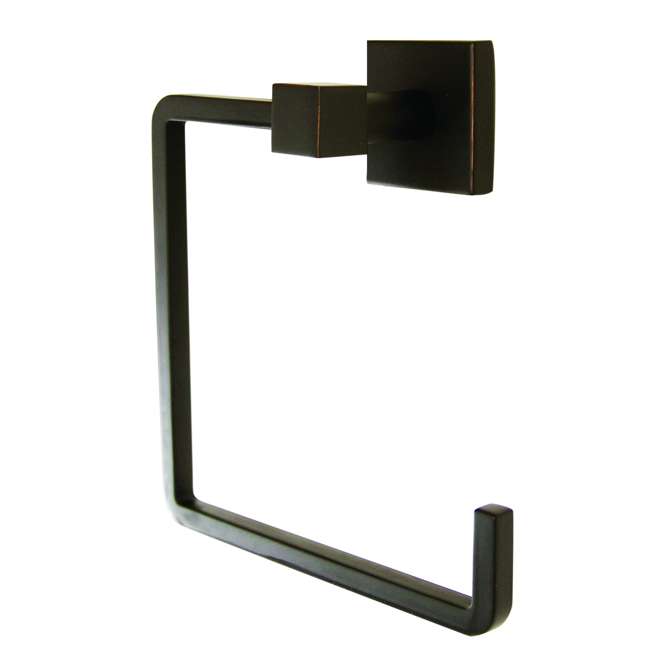 Design House 581405 Karsen Towel Ring, Oil Rubbed Bronze