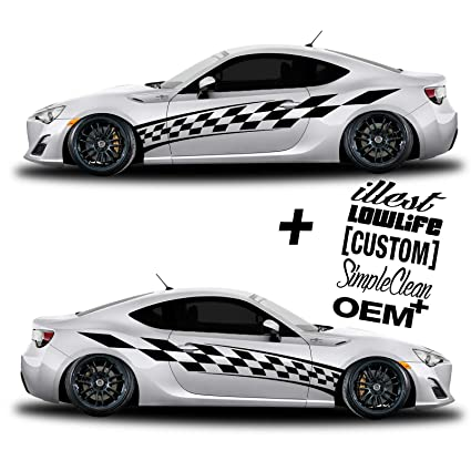 Custom Car Decal Sg