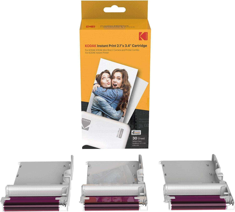 papel fotográfico kodak Mini 2/ plus/retro/ Mini Shot 60 uni
