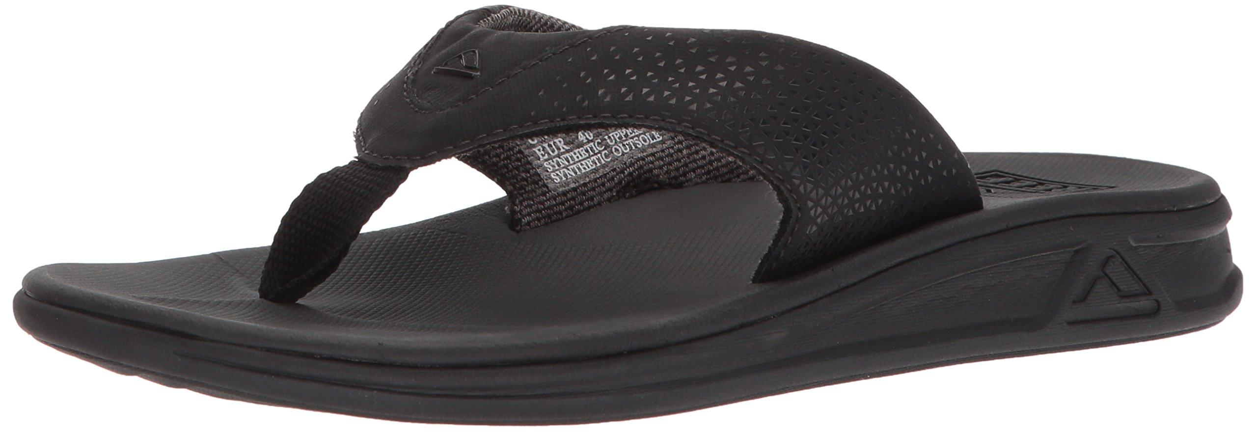 Reef Rover Mens Sandals | Athletic Sports Sandals for Men,11 M US,Black