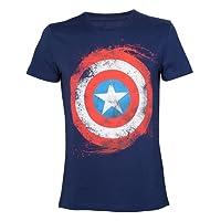 Captain america Logo Artwork T-Shirt Dunkelblau