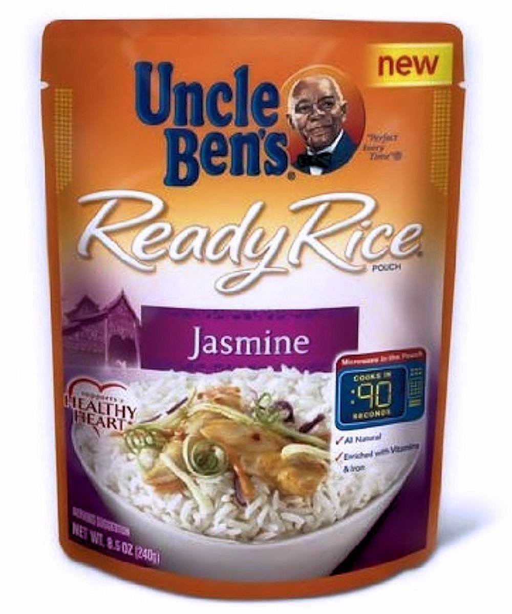 Uncle Ben's Ready Rice Pouch Jasmine - 6 Pack Bundle