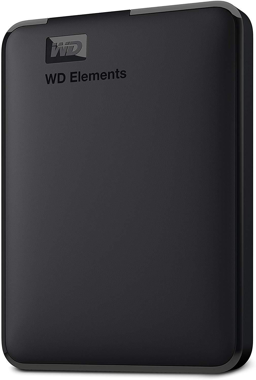 Western Digital Elements 1TB Portable External Hard Drive (Black) product image
