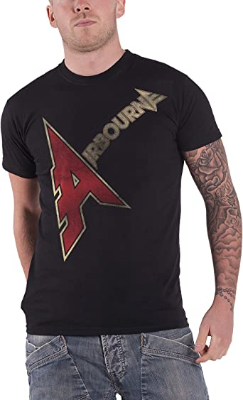 Airbourne /'A Logo/' T-Shirt NEW /& OFFICIAL!
