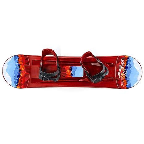 Kids Plastic Starter Snowboard /& Bindings 95cm
