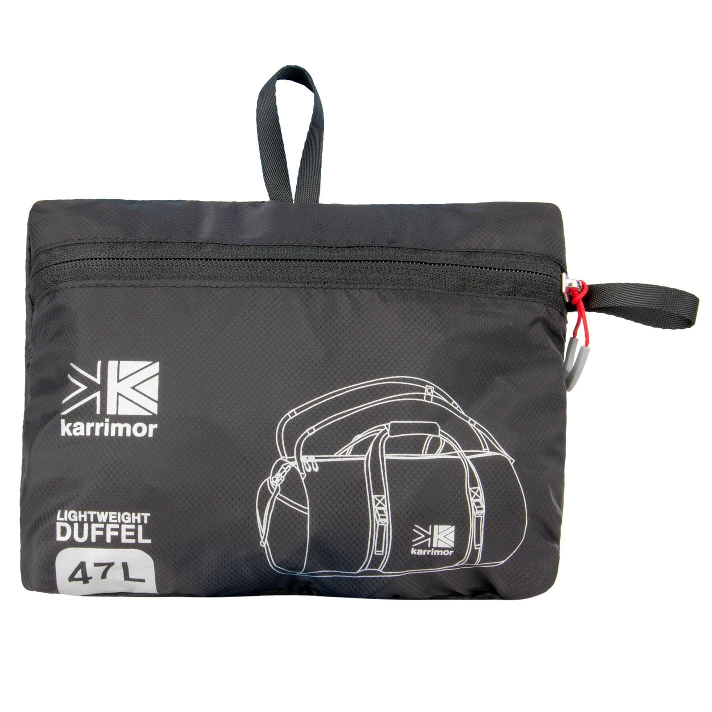 1031d730f7e6 Karrimor Unisex Helium 47L Duffle Bag  Amazon.co.uk  Sports   Outdoors