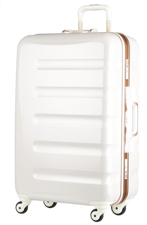 【レジェンドウォーカー】LEGEND WALKER スーツケース アルミフレーム 鏡面ボディ TSAロック 軽量 機内持込~大型 B01N7KG16Y Lサイズ-70cm(5~1週間)|ホワイトカーボン ホワイトカーボン Lサイズ-70cm(5~1週間)