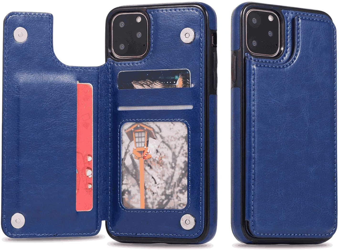 Cover for Leather Card Holders Extra-Shockproof Business Kickstand Wallet case Flip Cover Samsung Galaxy S10 Flip Case