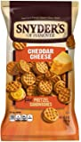 Snyder's of Hanover Cheddar Cheese Pretzel Sandwiches, 8-Ounce Packages (Pack of 12)