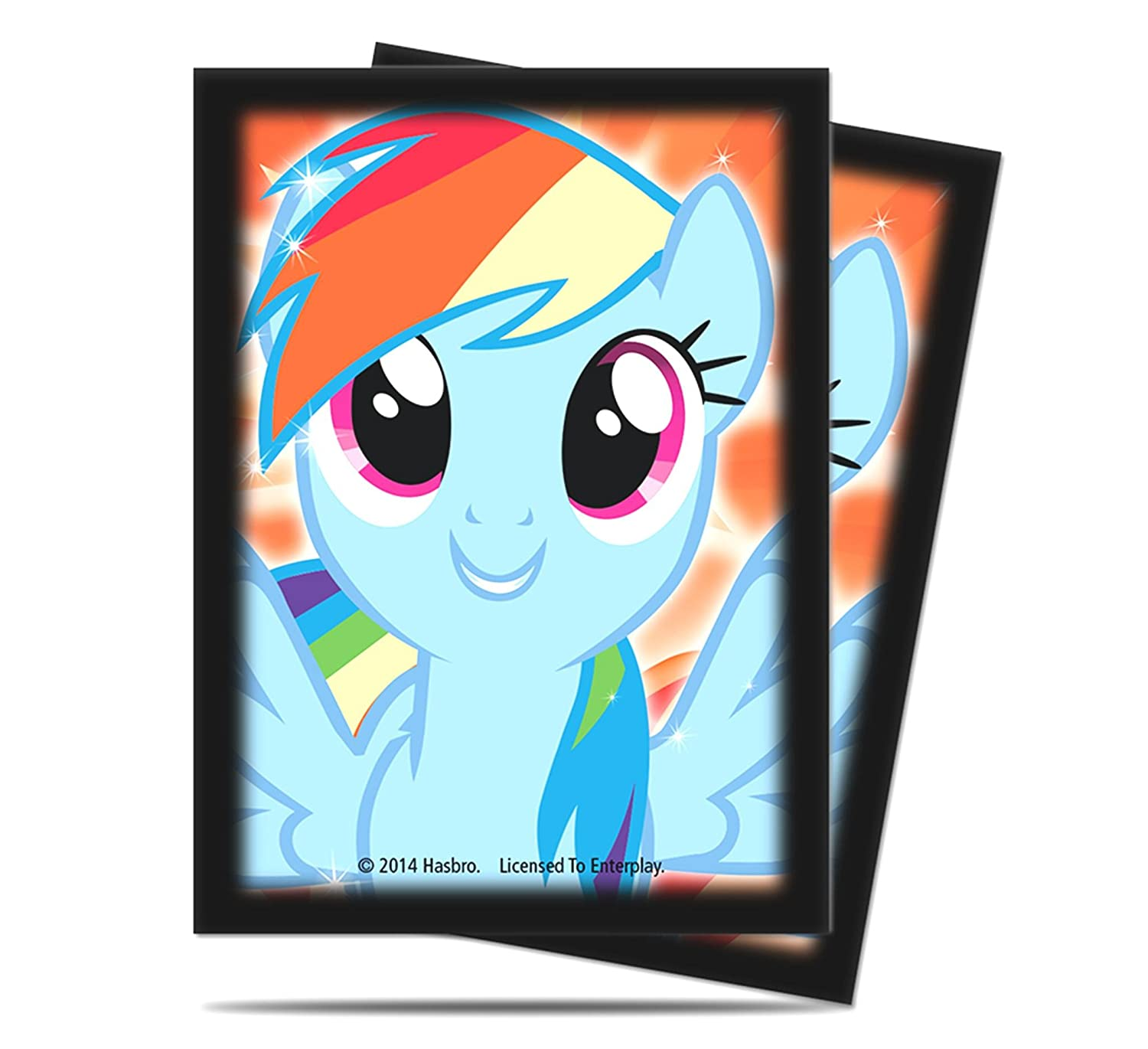Ultra Pro My Little Pony: Rainbow Dash Deck Protector Sleeves (65 ct.)