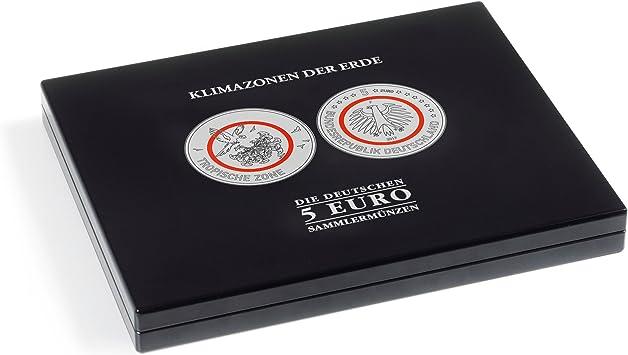 Estuche para monedas de colección alem. de 5 € Zonas climáticas de la Tierra en cápsulas: Amazon.es: Juguetes y juegos