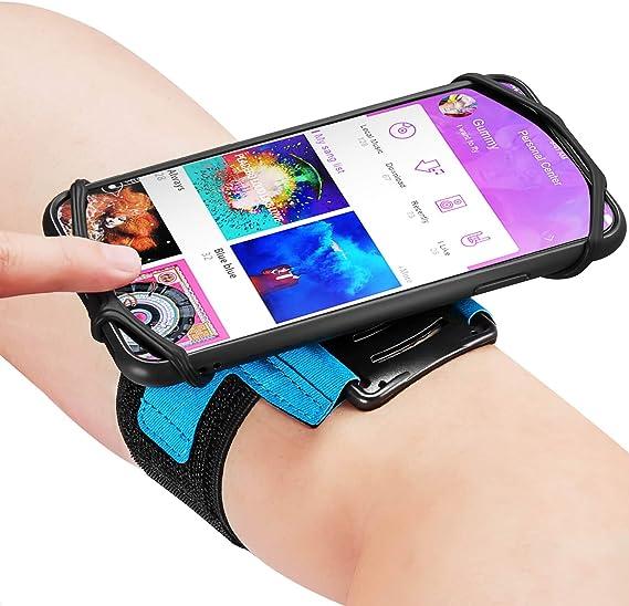 180° Sport Running Jogging Gym Arm band Wrist Band Phone Case Holder For Samsung